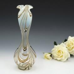Thomas Webb Filamentosa Vase c1880