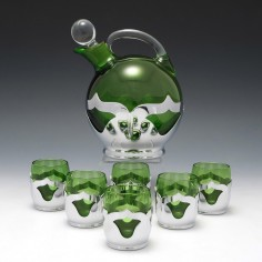 Farber Bros Art Deco Liqueur Set c1935