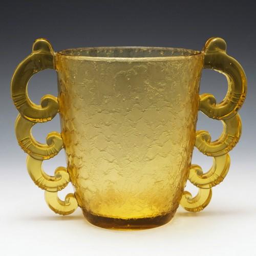 Pierre D'avesn for Daum Art Deco Vase 1930-36