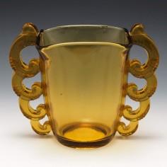 Pierre D'Avesn for Daum Art Deco Vase c1930