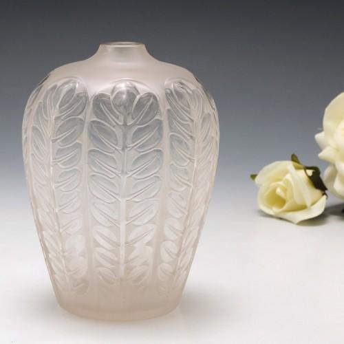 Rene Lalique Tournai Vase Designd 1924 Marcilhac 956