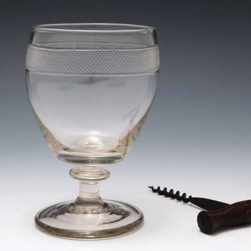 Georgian Glass Rummer c1820