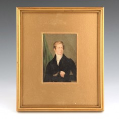 A Baxter Print of Sir Robert Peel 1853