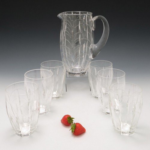 Clyne Farqharson Kendal Cut Lemonade Set for John Walsh 1937