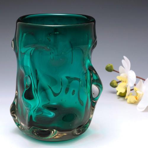 A Whitefriars Knobbly Vase Pattern 9609 c1963