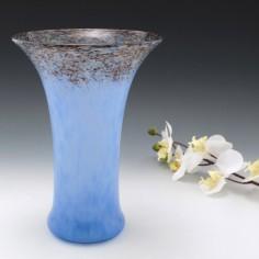A Monart RB Shape Vase with Aventurine c1935