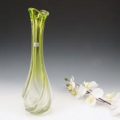 A Rare Art Vannes Lorraine Glass Vase c1955