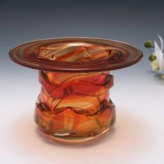Mdina Top Hat Vase c1990