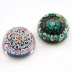Two Strathearn Miniature Paperweights c1970