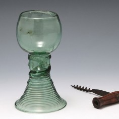 A Hollow Stem Roemer  Glass c1765