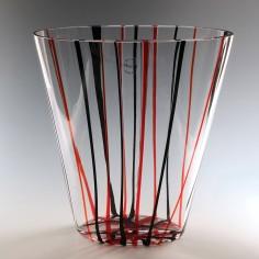 A Carlo Nason Murano Art Glass Vase