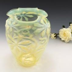 A Large Opaline Glass Vase c1890