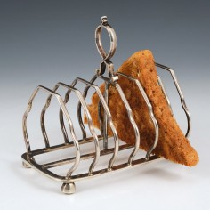 Sterling Silver Toast Rack Sheffield 1925
