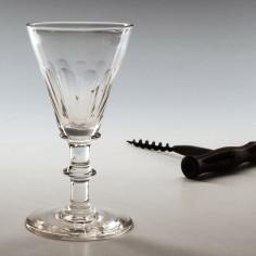 19th Century Gin Glass c1840