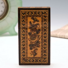 Tunbridge Ware Card Case c1860