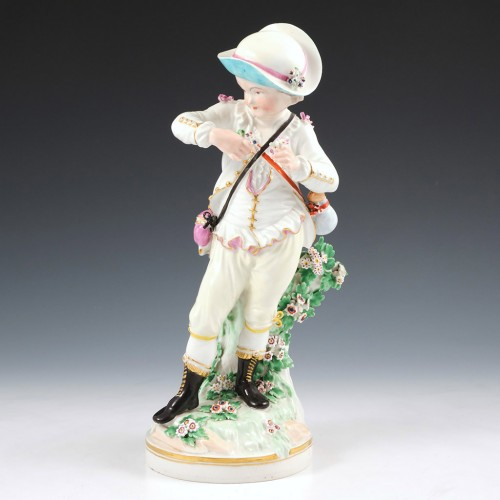 A Derby Porclain Figure of Spring From The French Seasons c1805
