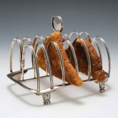 Sterling Silver Toast Rack London 1817