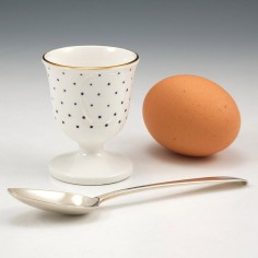 An English porcelain Egg Cup Possibly Minton c1840