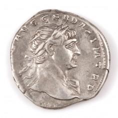 Emperor Trajan, Silver Denarius, 113AD