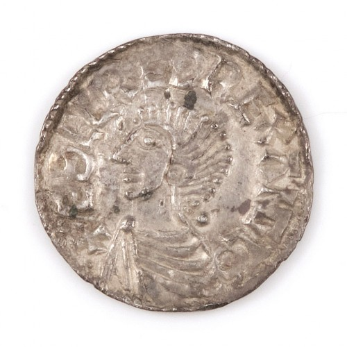 Anglo-Saxon, Aethelred II, Silver Voided Long Cross Penny, 997-1003