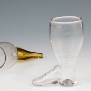 A 19th Century Glass Boot