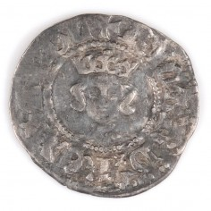 Richard II, Silver Half Penny, Intermediate Style, 1377-99