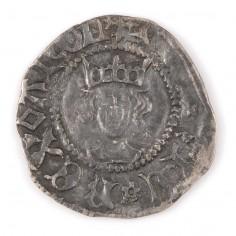 Henry VI Silver Half Penny Calais Mint Rosette-Mascle 1430-31