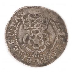 James I Silver Halfgroat 1604-5