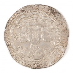 Henry V, Silver Groat, Frowning Bust Type, 1413-22