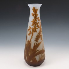 A Talle galle Cameo Glass Vase c1920