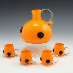 An Orange Tango Liqueur Set c1935