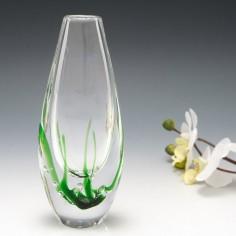 A Vicke Lindstrand For Kosta Seaweed Vase  c1960