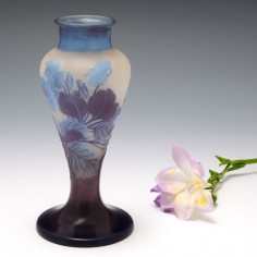 A Galle Cameo  Glass Vase 1900-04