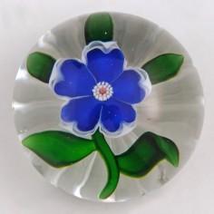 A Baccarat Flower Miniature Paperweight c1865