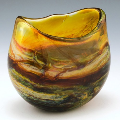 An Exmoor Oval Vase By Siddy Langley 2020