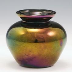 Thomas Webb Bronze Lebes Shape Vase c1880