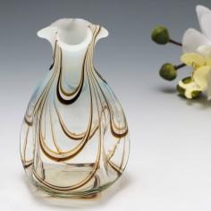 A Thomas Webb Filamentosa Vase c1880