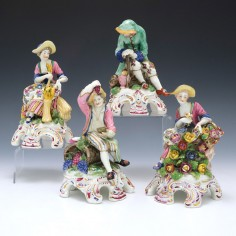 A Set of the Four 'Bow' Seasons by Samson of Paris c1900