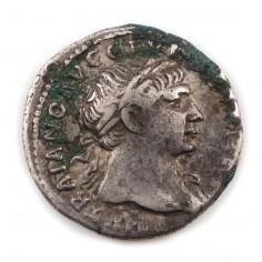 Emperor Trajan, Silver Denarius, 108AD