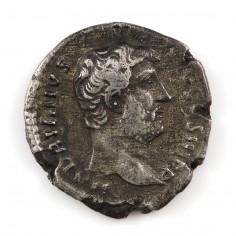 Emperor Hadrian, Silver Denarius, 134-138 AD
