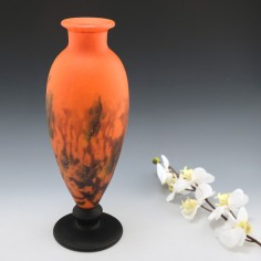 A Tall Muller Freres Vase c1925