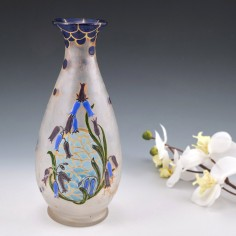 Legras Enamelled Vase c1920
