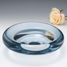 A Holmegaard Biomorphic Bowl by Per Lutken 1957