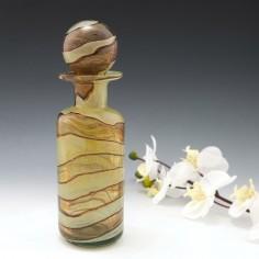 Mdina Earthtones Decanter  Bottle c1975