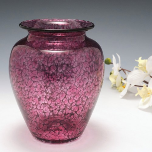 A Teign Valley Glass Vase c1990