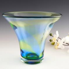Very Large Stevens Williams Rainbow Vase 1935-40