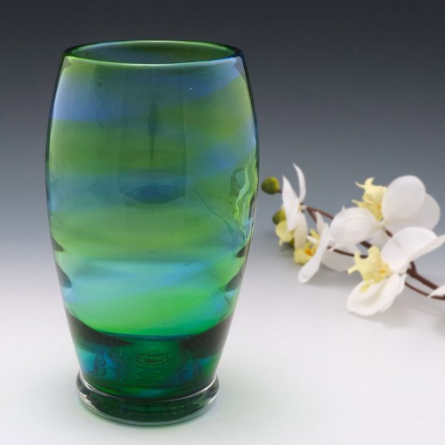 A Royal Brierley Stevens and Williams Glass Vase 1935-50