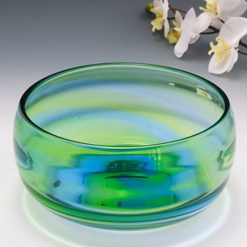 Stevens And Williams Rainbow Glass Bowl 1935-40