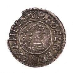 Anglo-Saxon Aethelred II Silver 'Hand of Providence' Type Penny 979-985