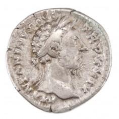Emperor Marcus Aurelius Silver Denarius Felicitas Rome , AD 174